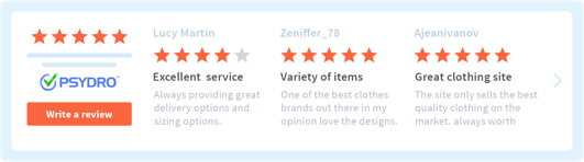 Web developers clients need customer testimonials website ( Example)